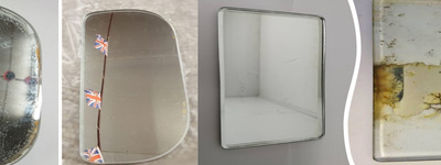 Re-silvering Classic Vehicle Mirrors
