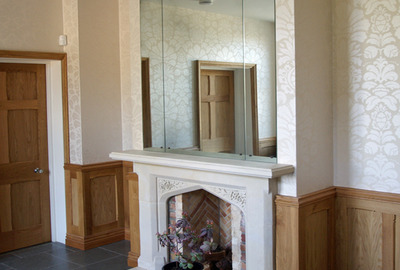 Distressed-Multi-Pane-Antique-Mirror