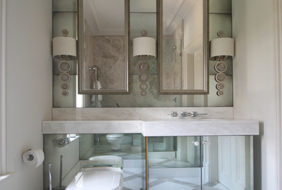 Antique-Mirror-Cloakroom-Splashback-Vanity