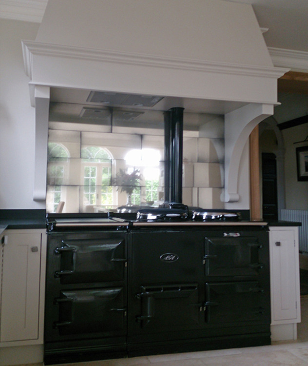 Kitchens - Mirrorworks Antique Mirror Glass from ...