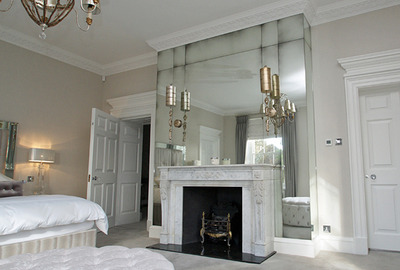 Master-Bedroom-Antique-Mirror-Fireplace