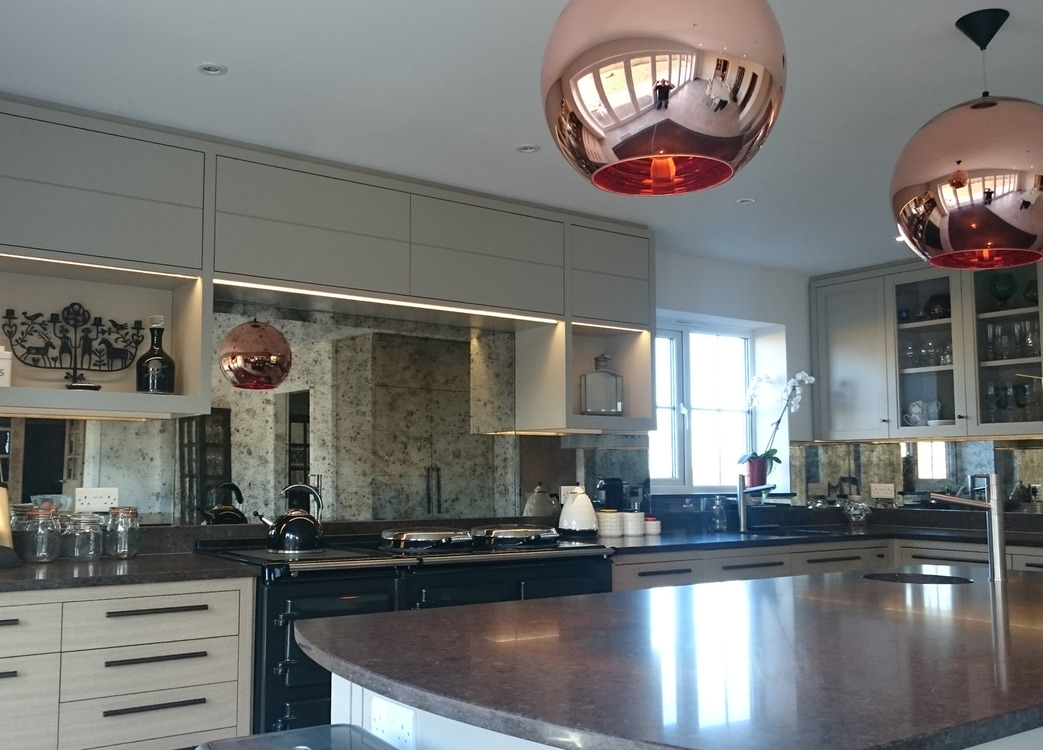 Kitchens - Mirrorworks Antique Mirror Glass from ...