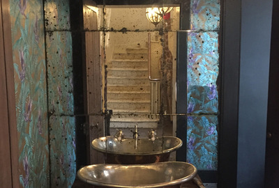 Rustic-Antique-Mirror-Distressed-Cloakroom-Splashback
