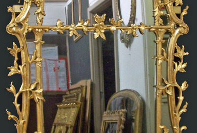 Grey-Smoked-Antique-Mirror-Restored-Frame